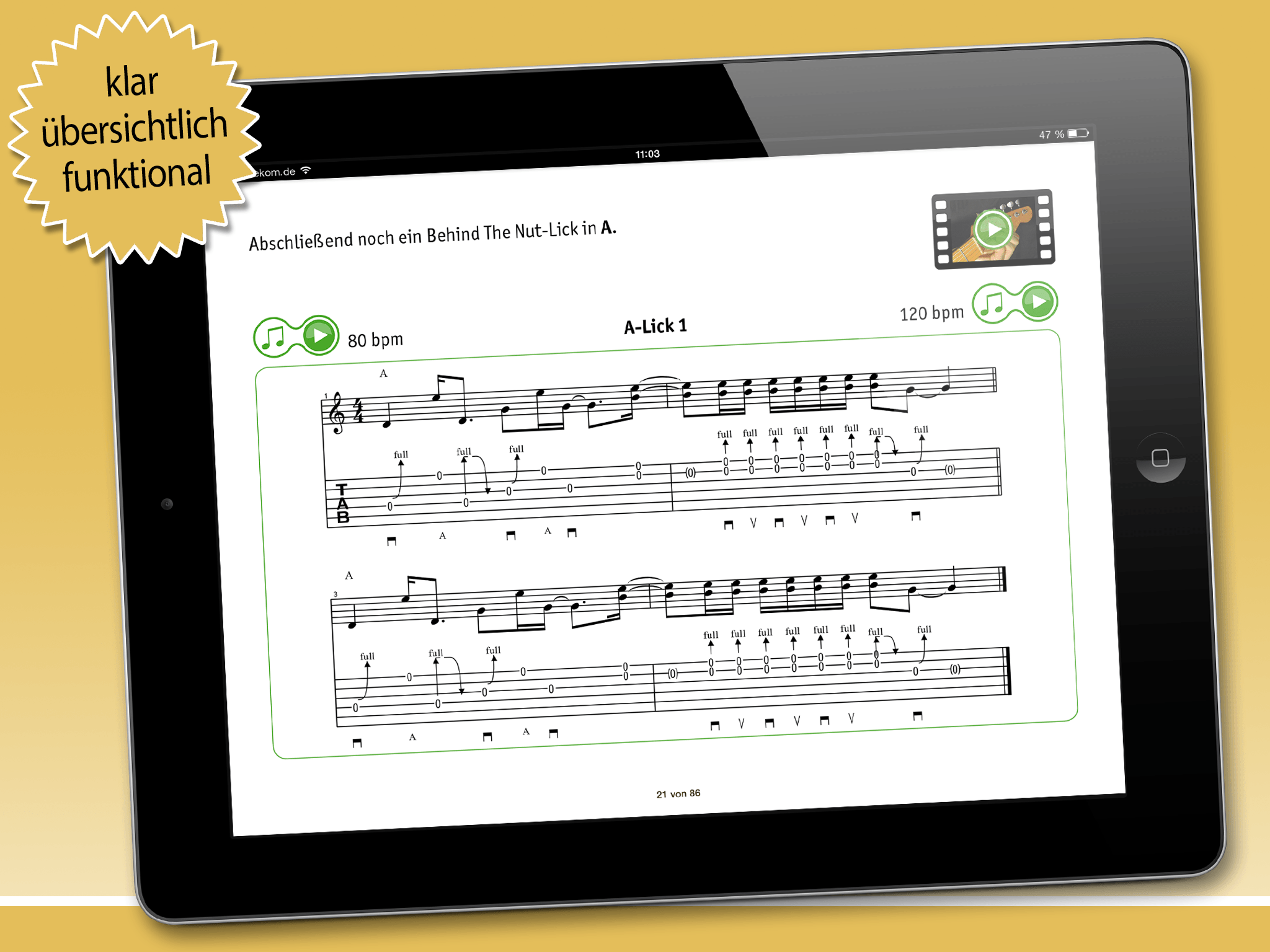 Country Guitar iPad App